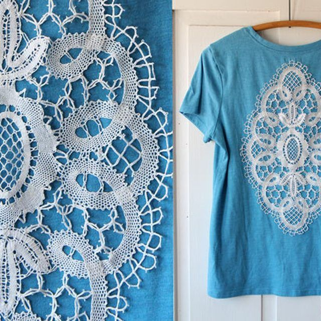 Summer DIY T-Shirt Series: Add a Crocheted Doily | eHow Crafts | eHow