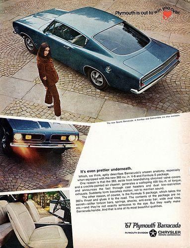 1967 Plymouth Sports Barracuda Plymouth Barracuda Muscle Cars Mopar