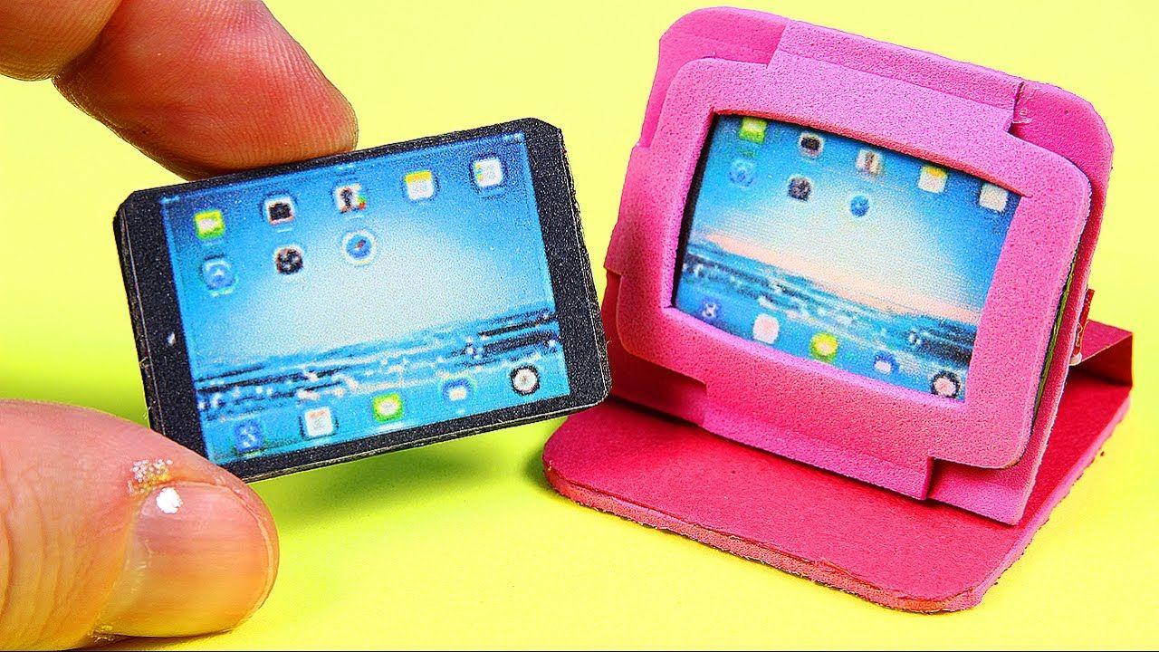 Diy miniature tablet ipad 2 tablet cases diy doll