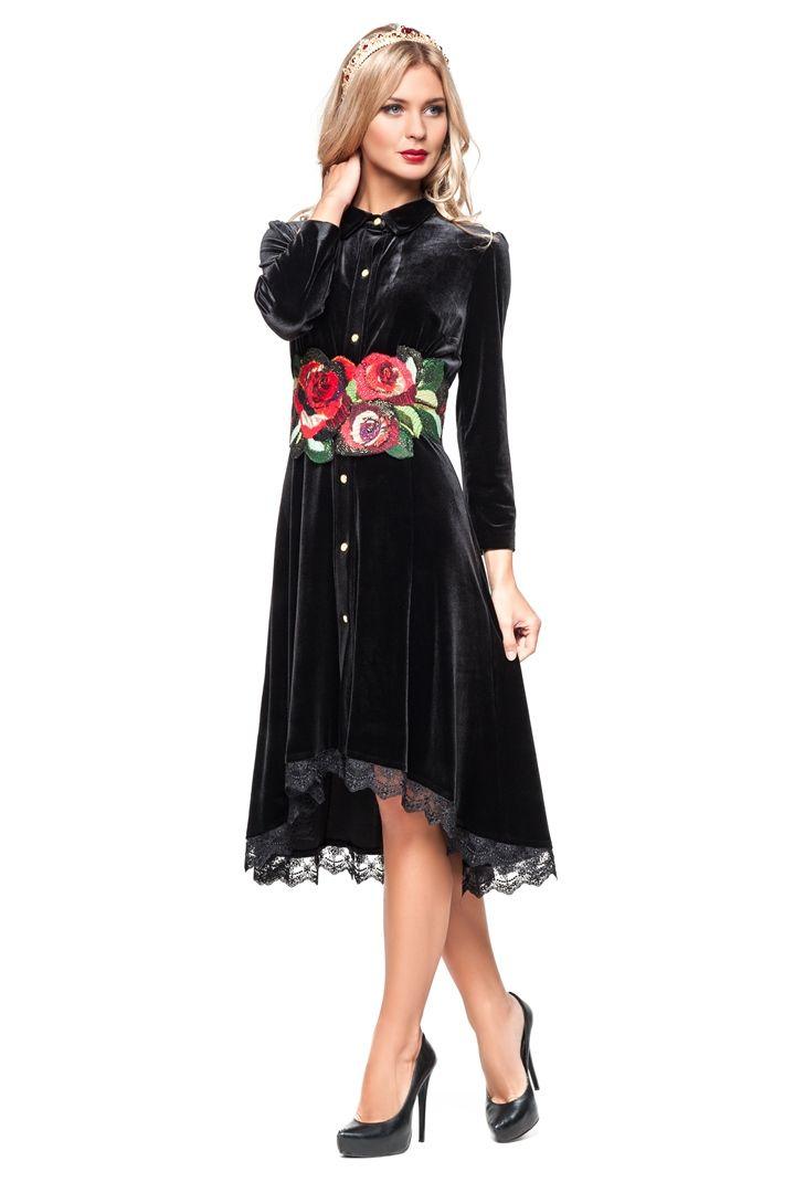 94cc6e7bf3b0 Платье - Юкостайл. Магазин дизайнерской одежды оптом и в розницу. Каталог,  Бархат,