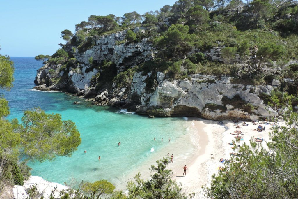 Cala Macarelleta - Menorca Guide Secret Beaches - Nook Twelve