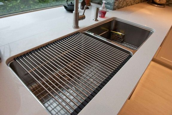 Thanks For Installing Franke Kubus Sink! So Glad You Love The Rollermat    One Of Our Most Popular Accessories!