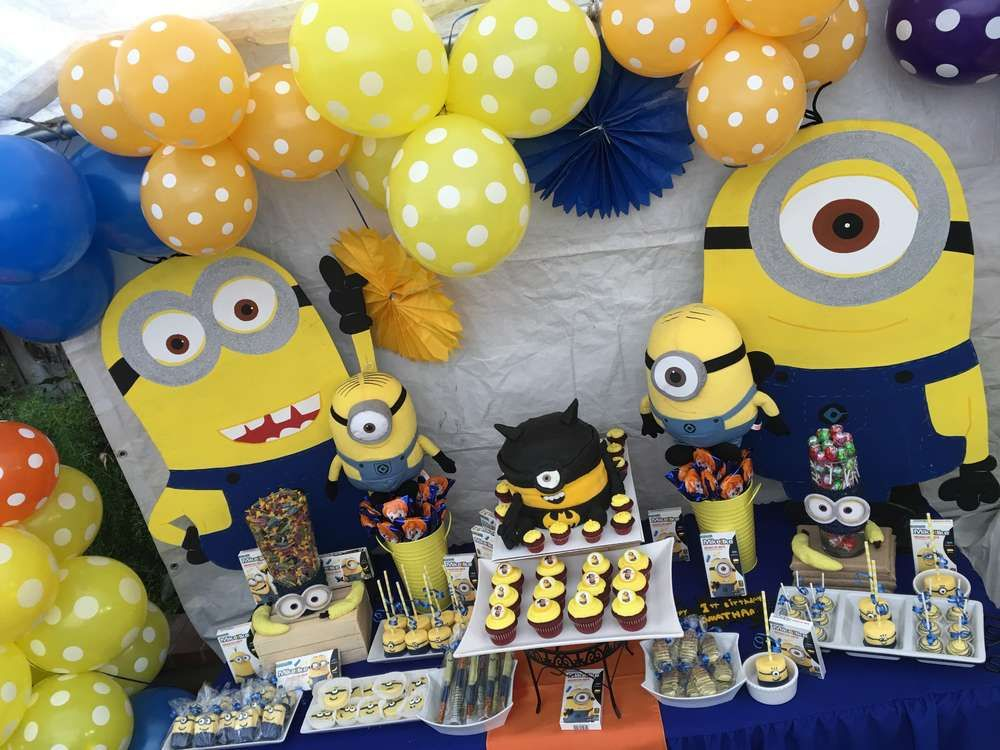 Love This Minions Birthday Party See More Ideas At CatchMyParty