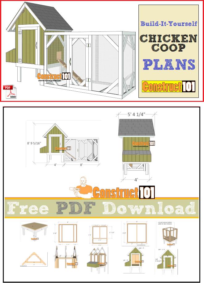 16++ Hen house plans free download image popular