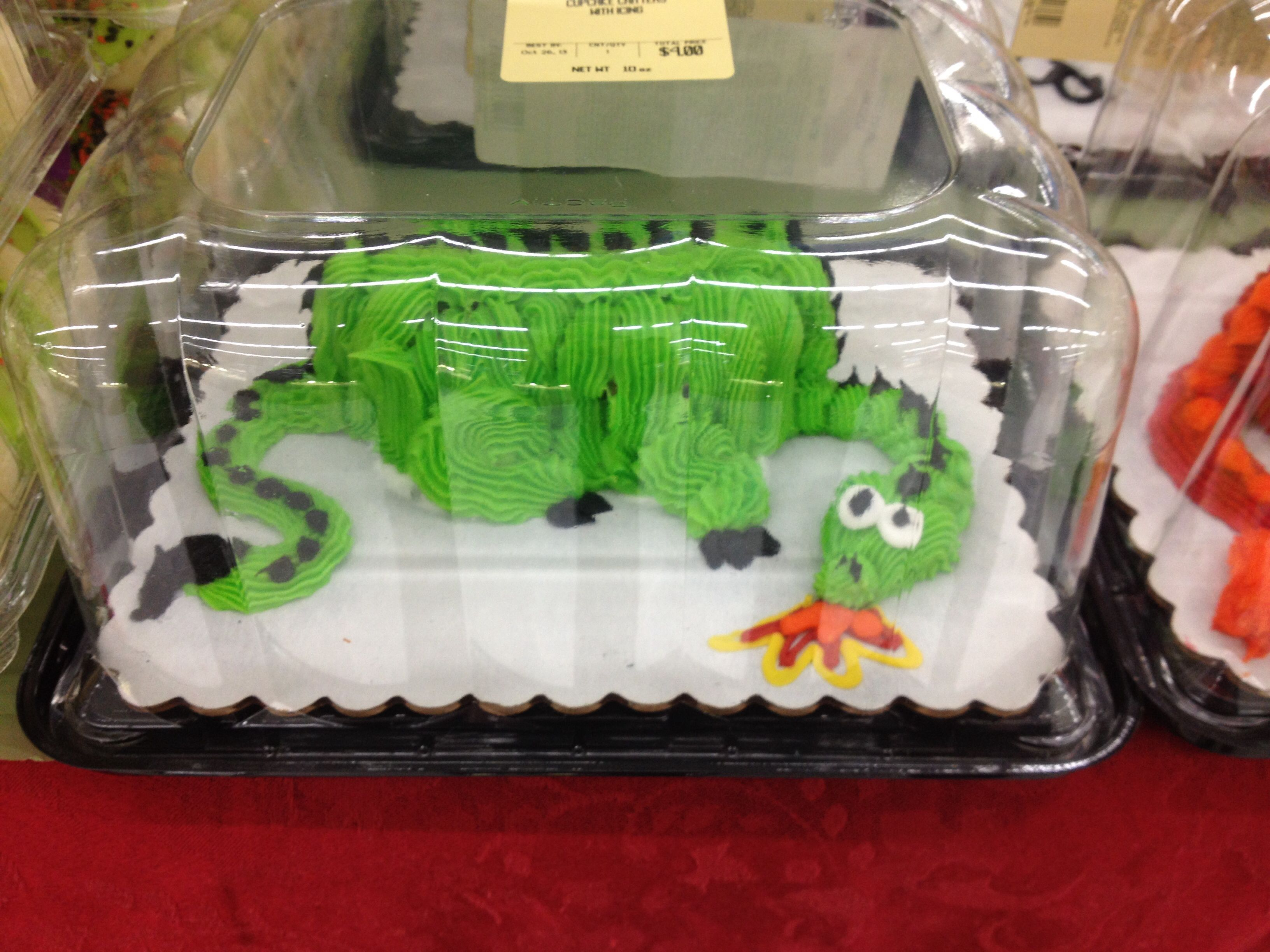 Cupcake Critter At Walmart This One Is Perfectly Theo Pendragon Because Its Green I HAD To Have It My Husband Just Rolled His Eyes