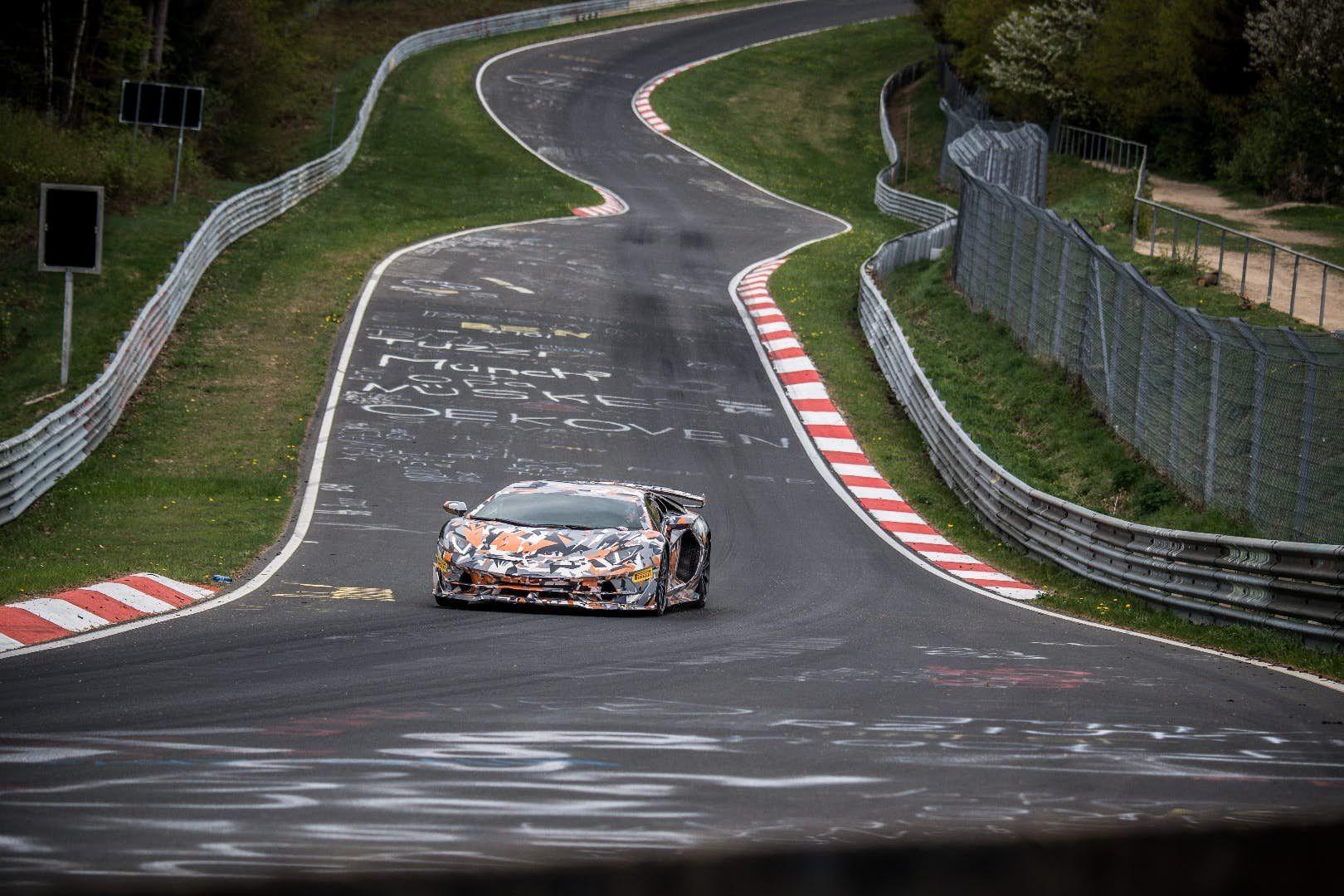 Lamborghini Aventador Svj Takes Lap Record At Nurburgring