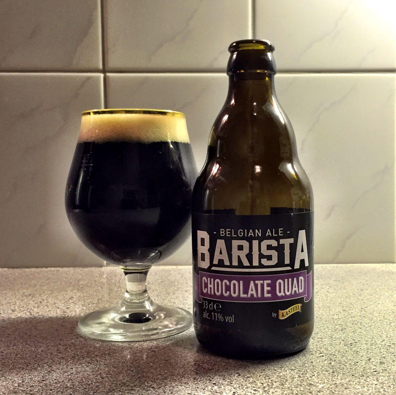 Kasteel Barista Chocolate Quad Van Honsebrouck brewery Alc.Vol. 11 ...