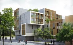 Nantes - Complexe de logements et locaux d'activité