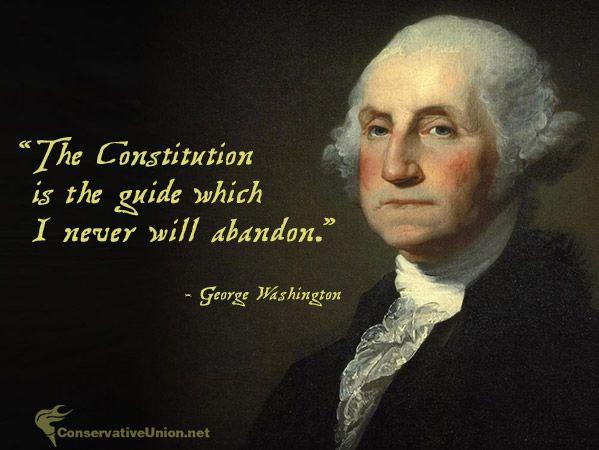 Constitution Quotes Classy 48st US President George Washington George Washington Pinterest