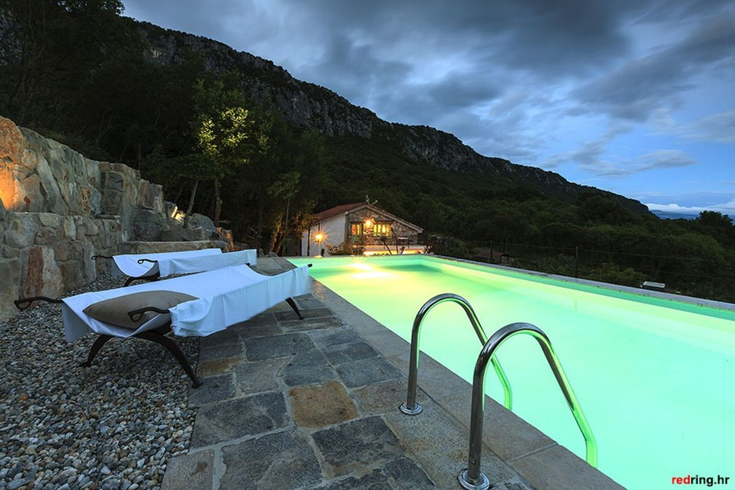 Villa Mirabilis, cool Croatian villa. Outdoor pool, Spa