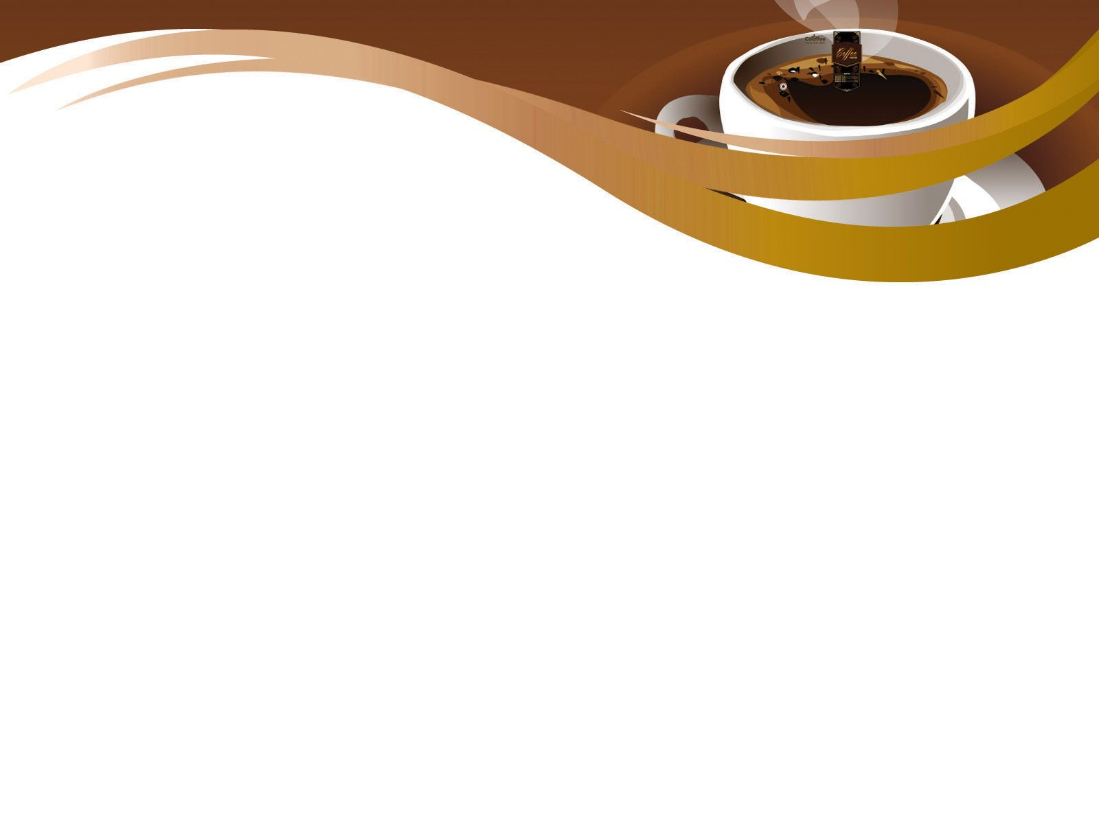 Delicious Coffee Powerpoint Templates Delicious Coffee Powerpoint