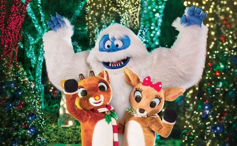 Sesame Place Celebrates With Rudolph Friends Christmas