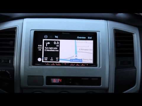 Video Walkthrough of Apple CarPlay on Pioneer Receiver