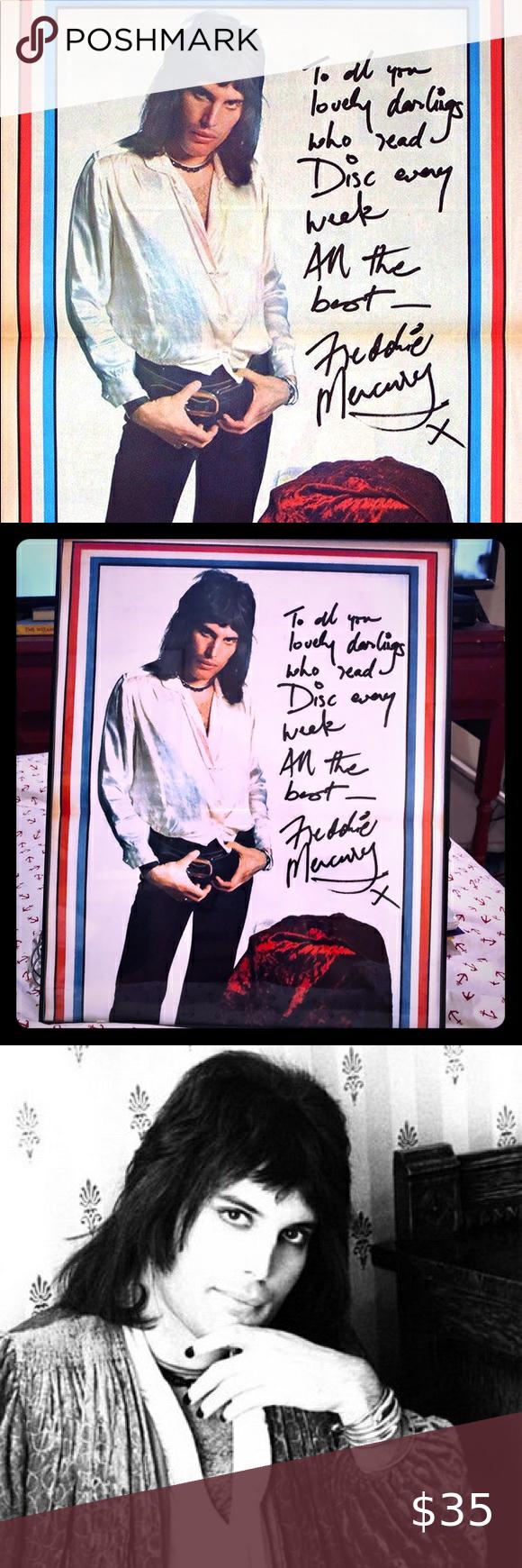 Freddie Mercury Signed 8x10 Framed Photo Reprint Photo Frame Freddie Mercury Somebody To Love