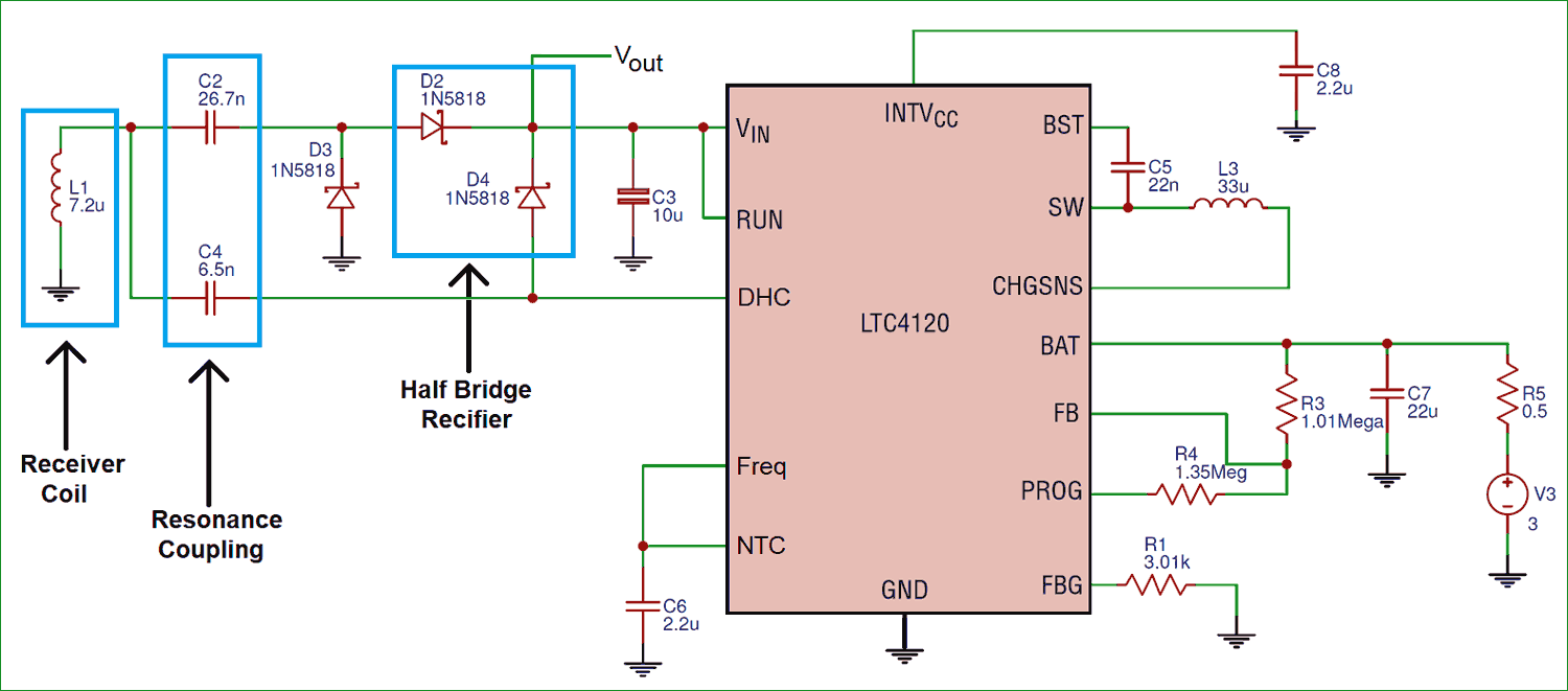 Wireless Power Transfer Circuit