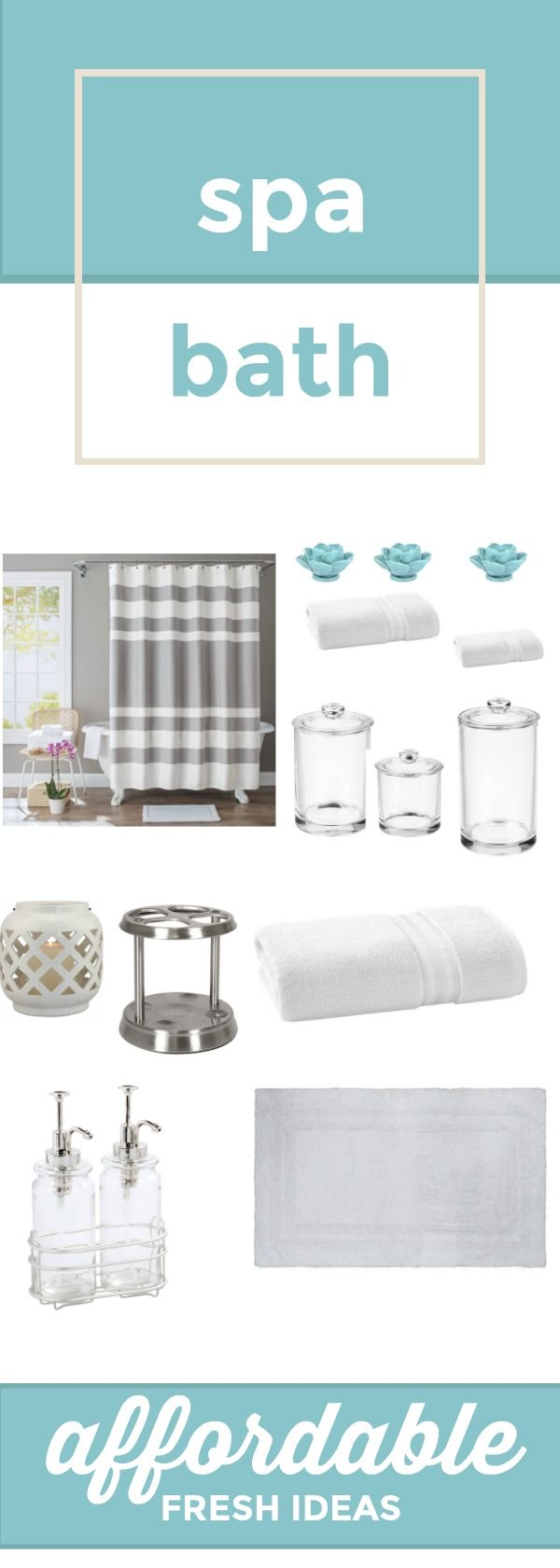 The luxury of a spa-like bath is very affordable with these ...