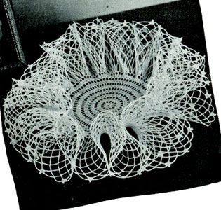I miss making doilies and this may be the first one i go back to making.. I love…
