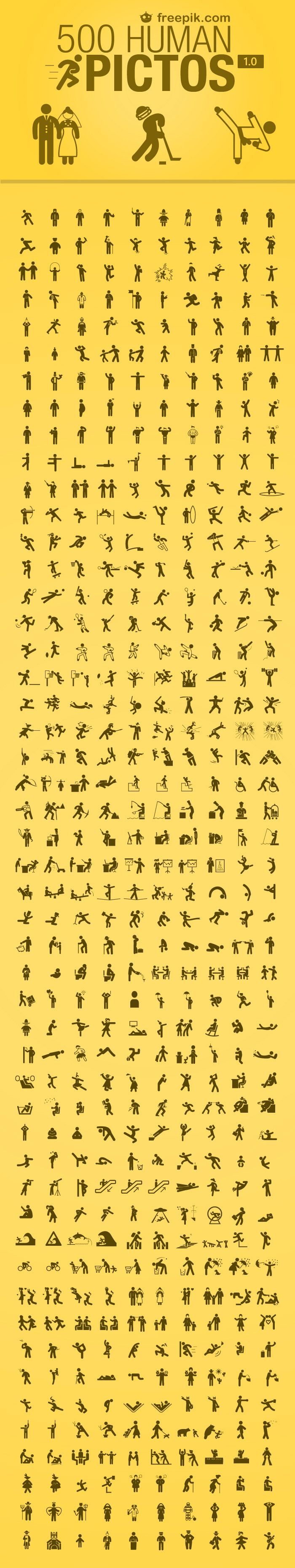 500 Free Human Icons                                                                                                                                                                                 Mehr