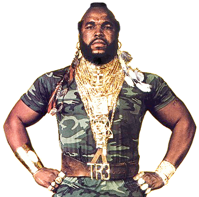 Vintage Threads The A Team Mr I Pity The Fool