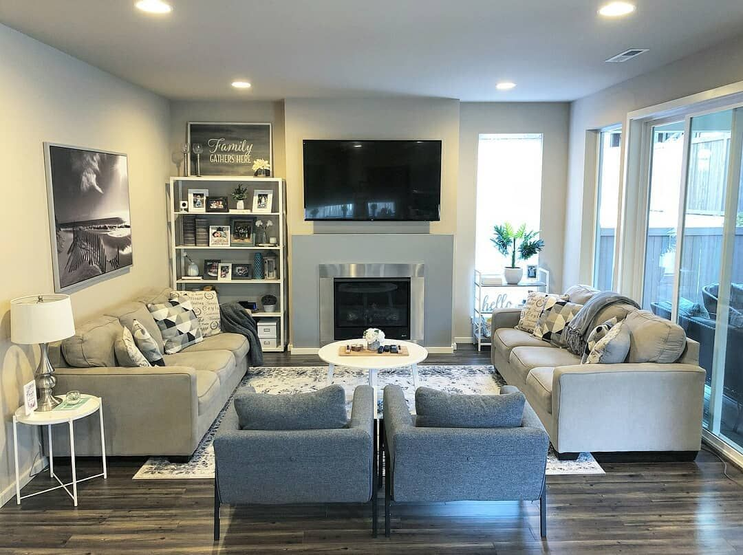 We Re Giving This An 11 10 On The Living Rooms We Love Scale Pc Mizelyjane Mymainvue Mainvuehomes Livingroomdecor Living Room Home And Living Room