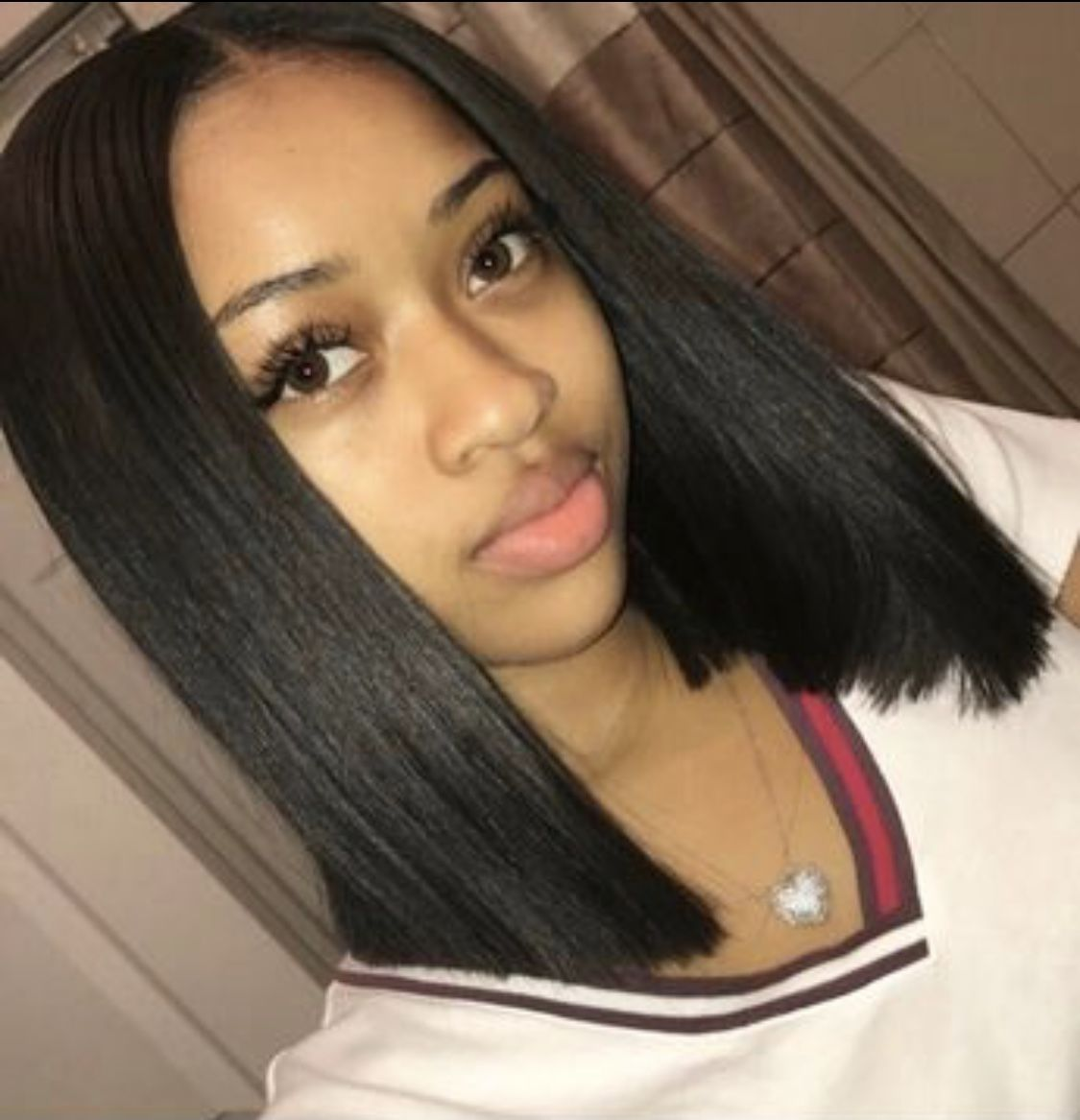 Sew In Weave Hairstyles For Black Women Short Shoulder Length With Middle Part W Braided Hairstyles For Black Women Weave Hairstyles Sew In Weave Hairstyles