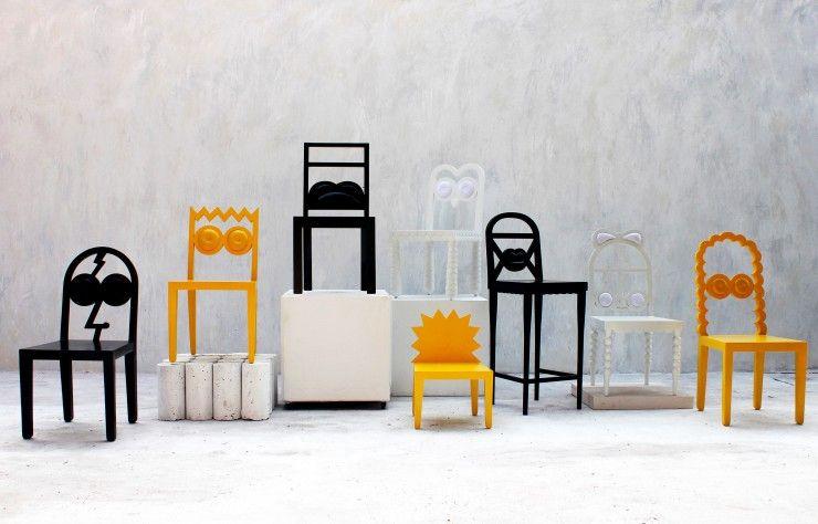 Caricature As Furniture Quand Le Design Rencontre La Culture Populaire Mobilier De Salon Design Et Caricature