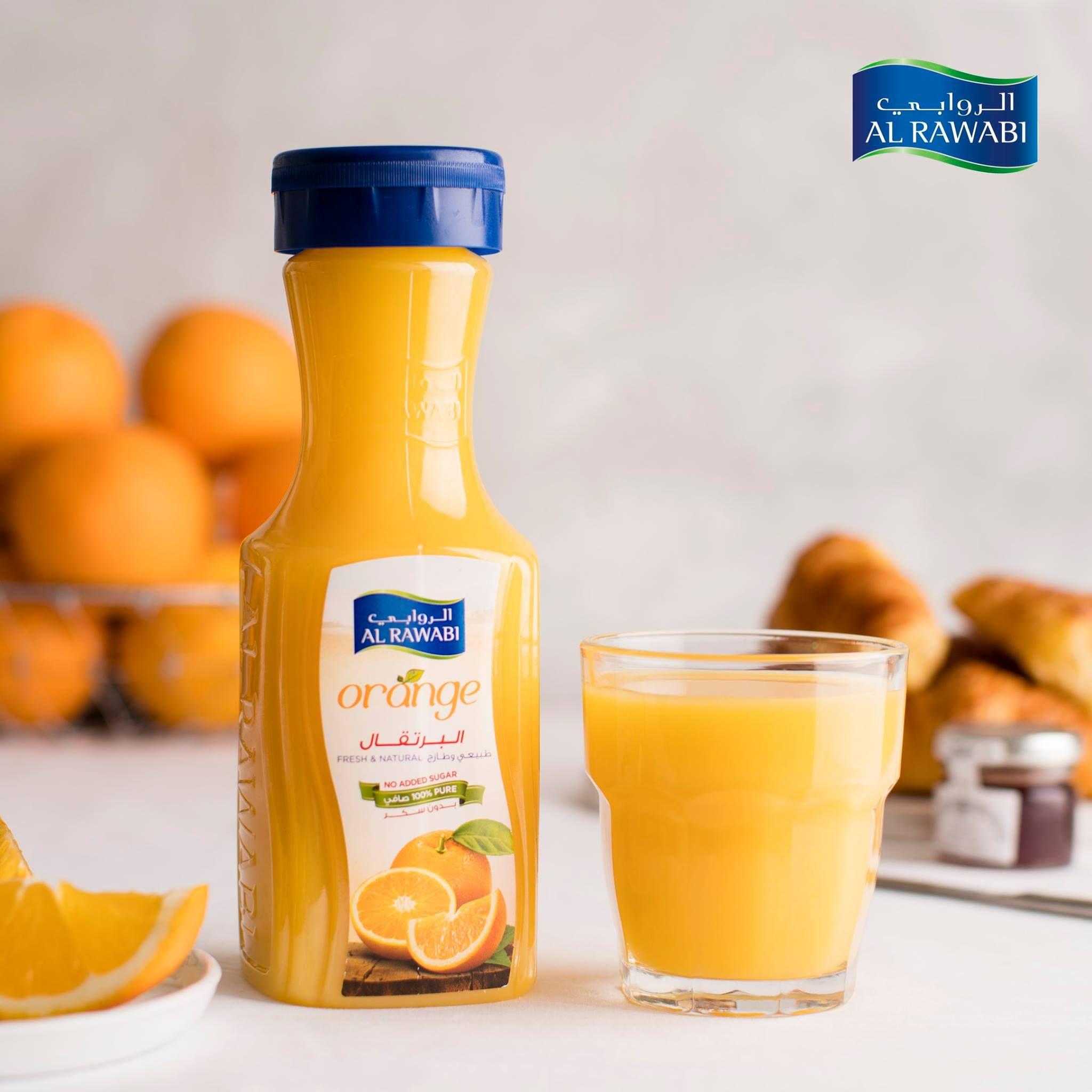 A Glass Of Al Rawabi Orange Juice Everyday Is A Great Way To Get Key Immune System Boosting Nutrients Such As Vitamin C كوب واحد من عص Party Packs Orange Juice