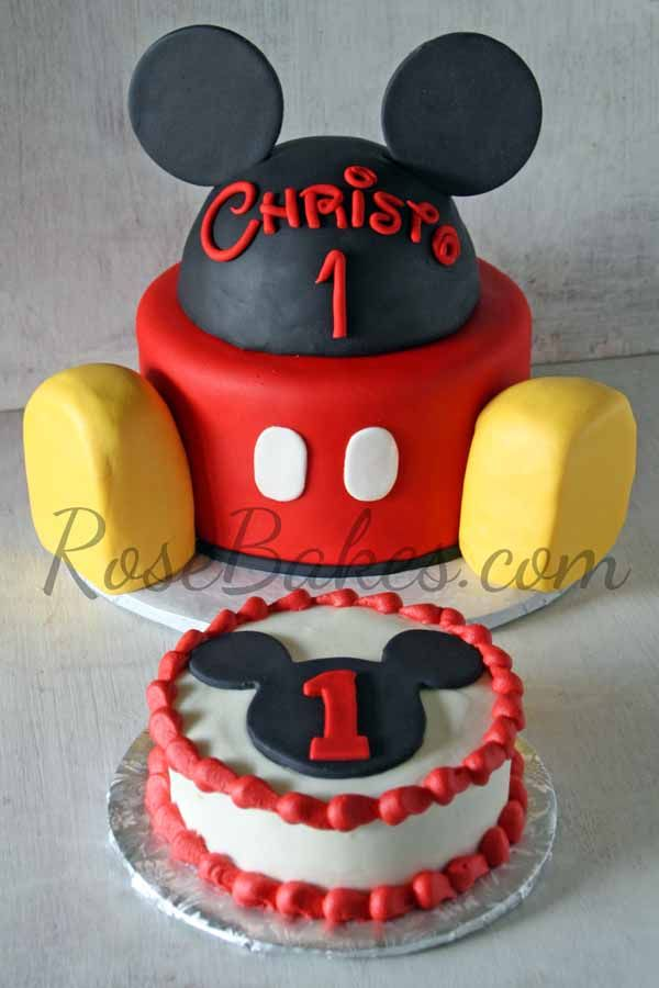 Mickey Mouse Clubhouse Cake And Smash