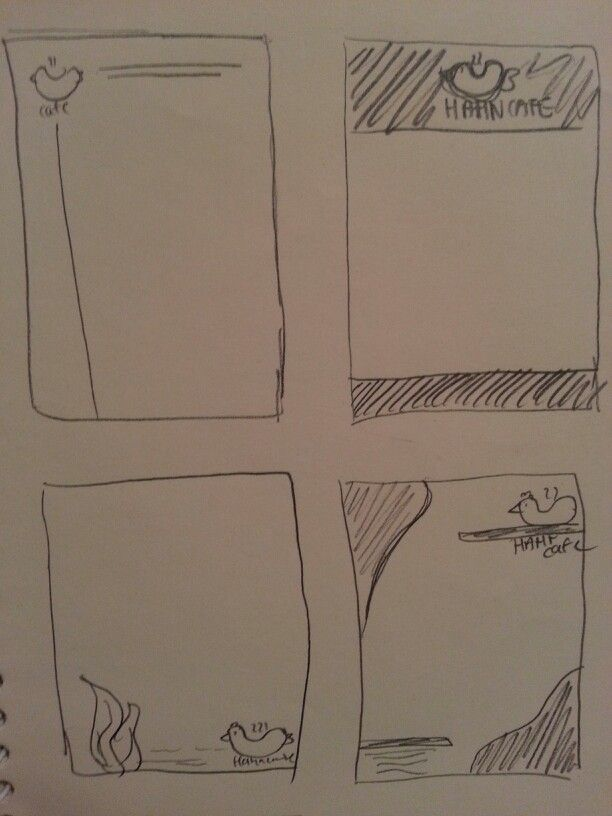 Sketches for letterhead