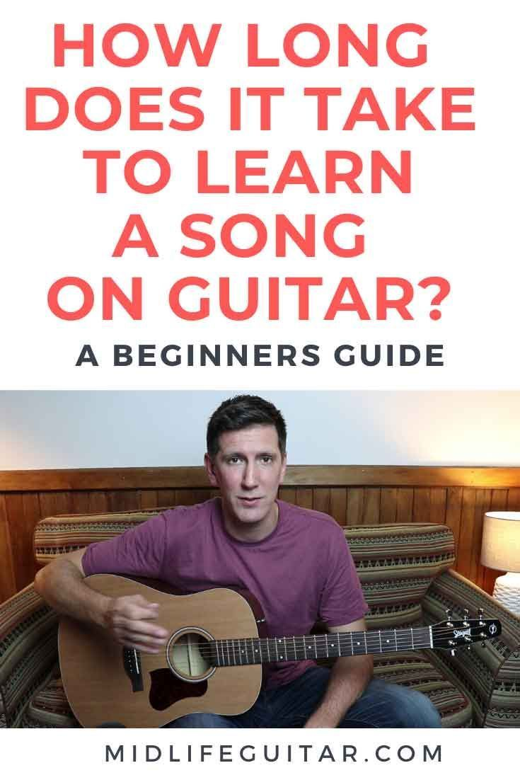 How long does it take to learn a guitar song beginner