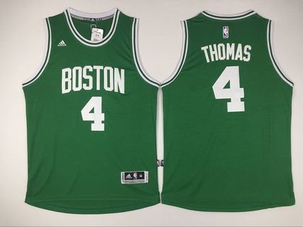 best service be413 65d7e Boston Celtics #4 Isaiah Thomas Revolution 30 Swingman New ...