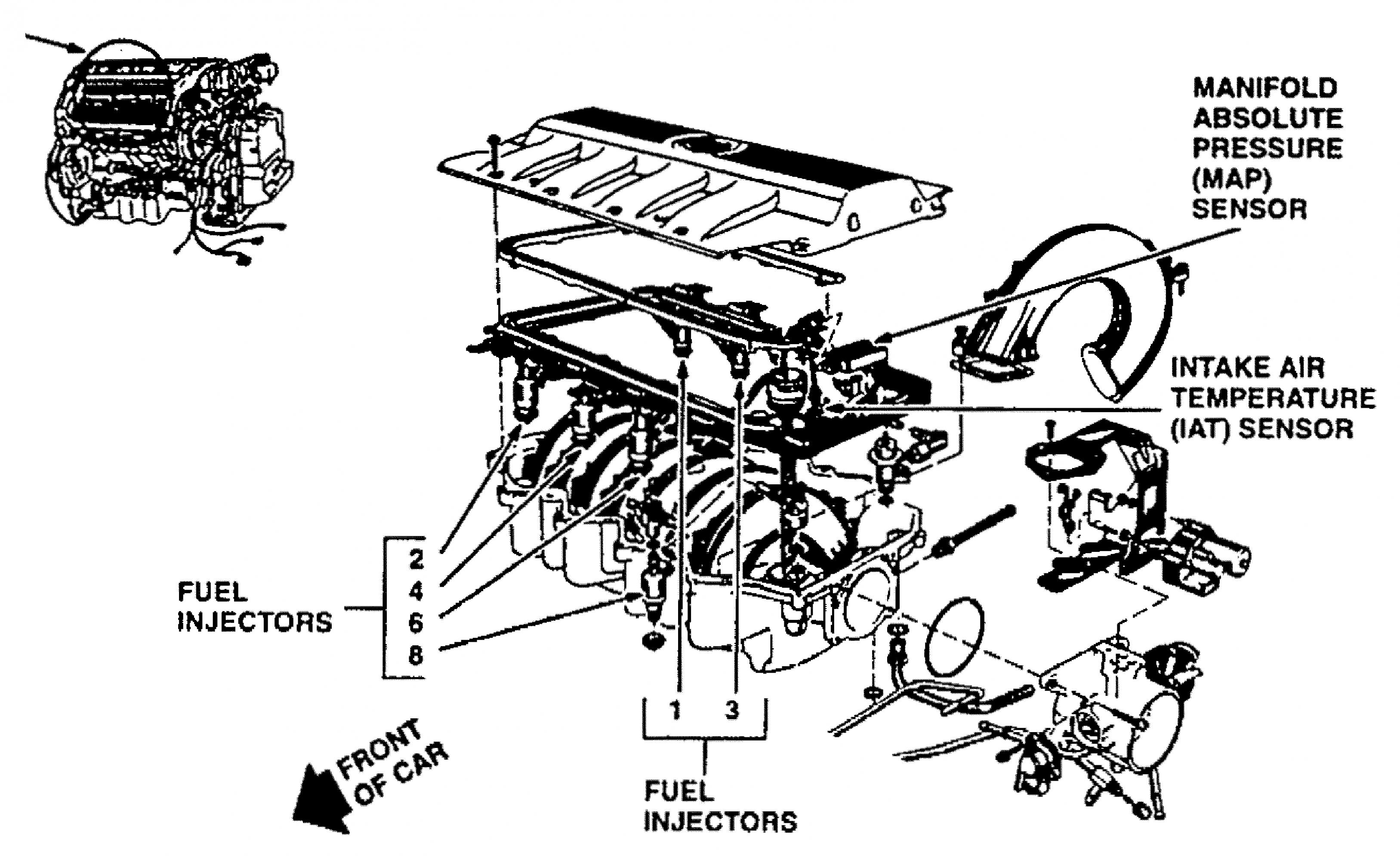 Northstar Engine Diagram Schematic