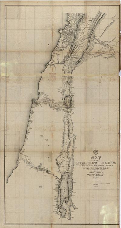 Middle East Map Dead Sea.Dead Sea Jordan 1840s Map Geography Nerd Map Israel Middle East
