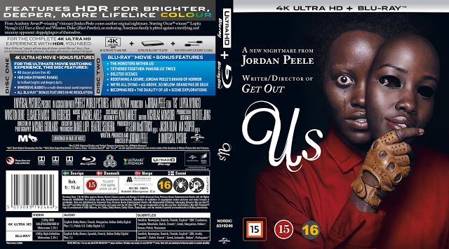 Us 4k UHD Bluray Cover | Blu ray, Movie blog, Cover