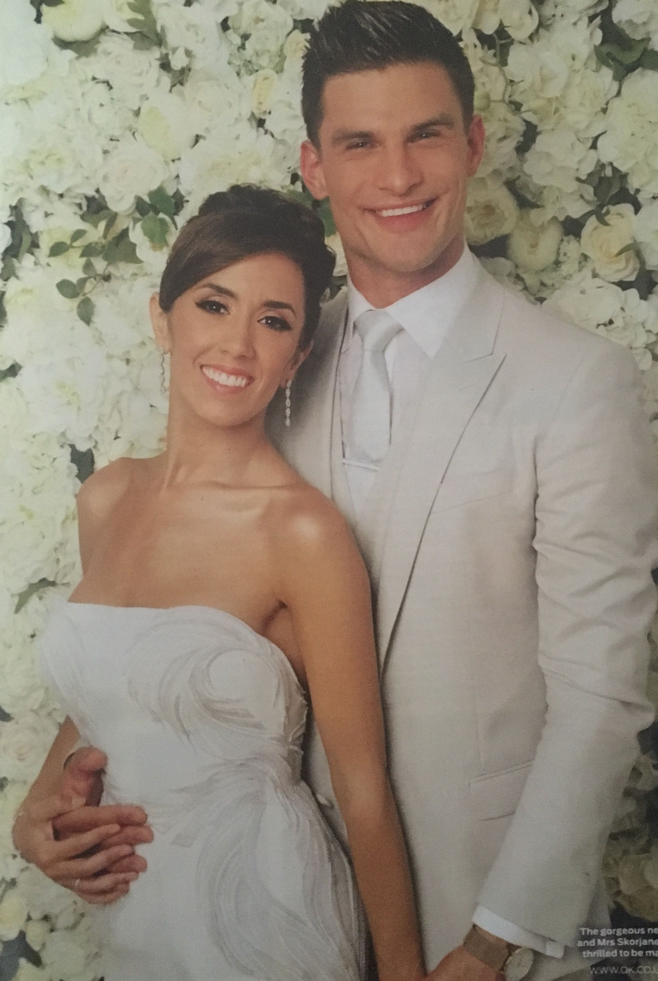 Janette And Aljaz Wedding Day Celebrities Ekkor 2019 Pinterest