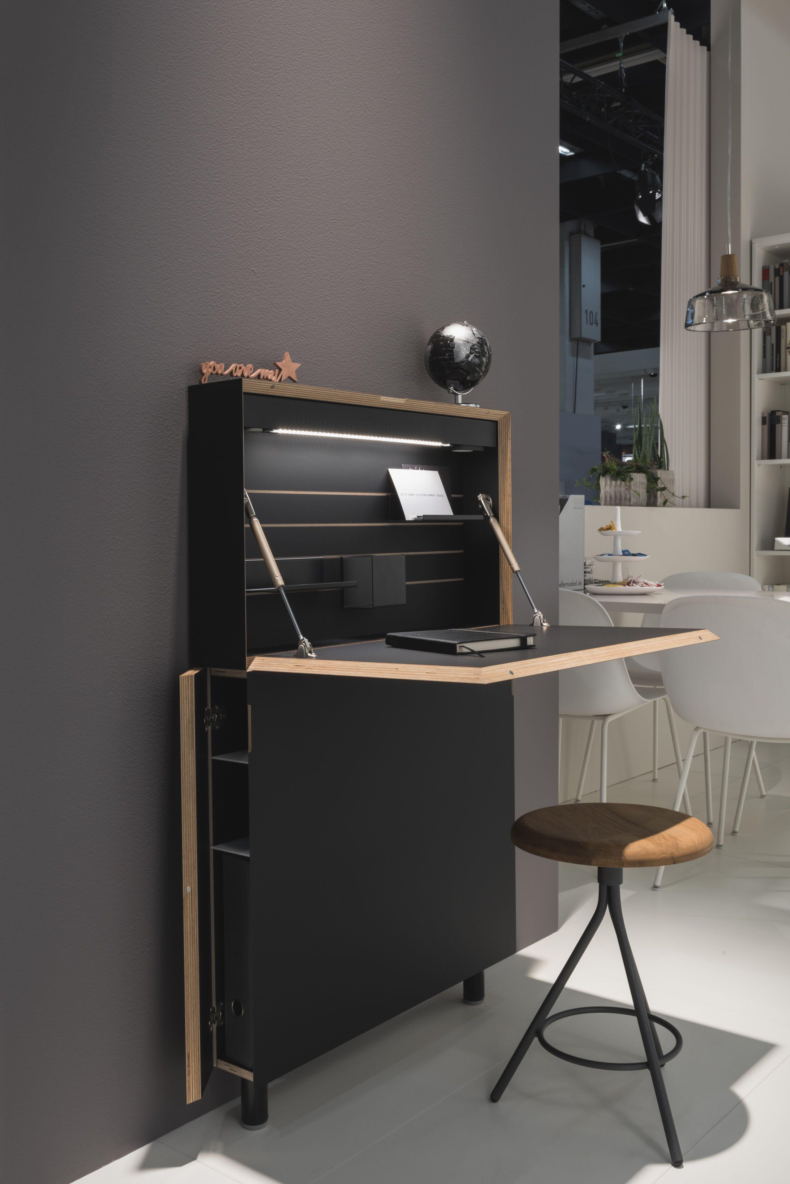 Flatmate Wall Desk In 2020 Wall Desk Desk In Living Room