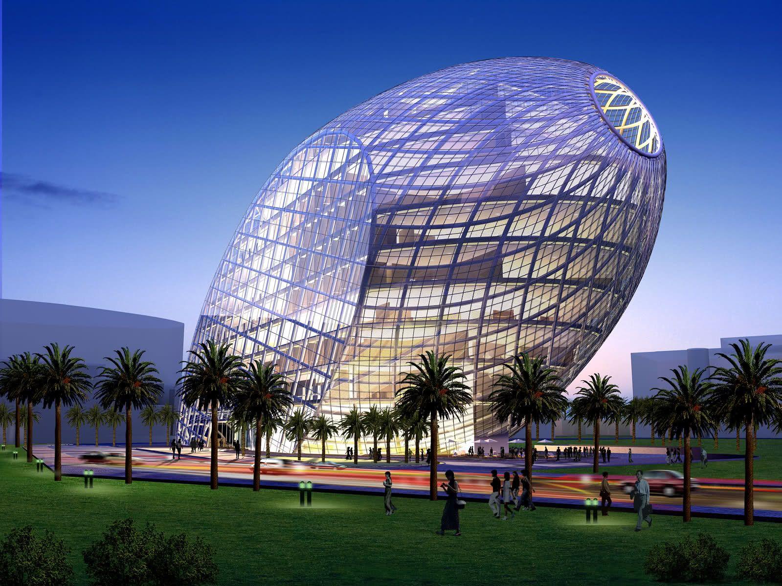 egg es un edificio sostenible diseado por el arquitecto james law para su construccin en