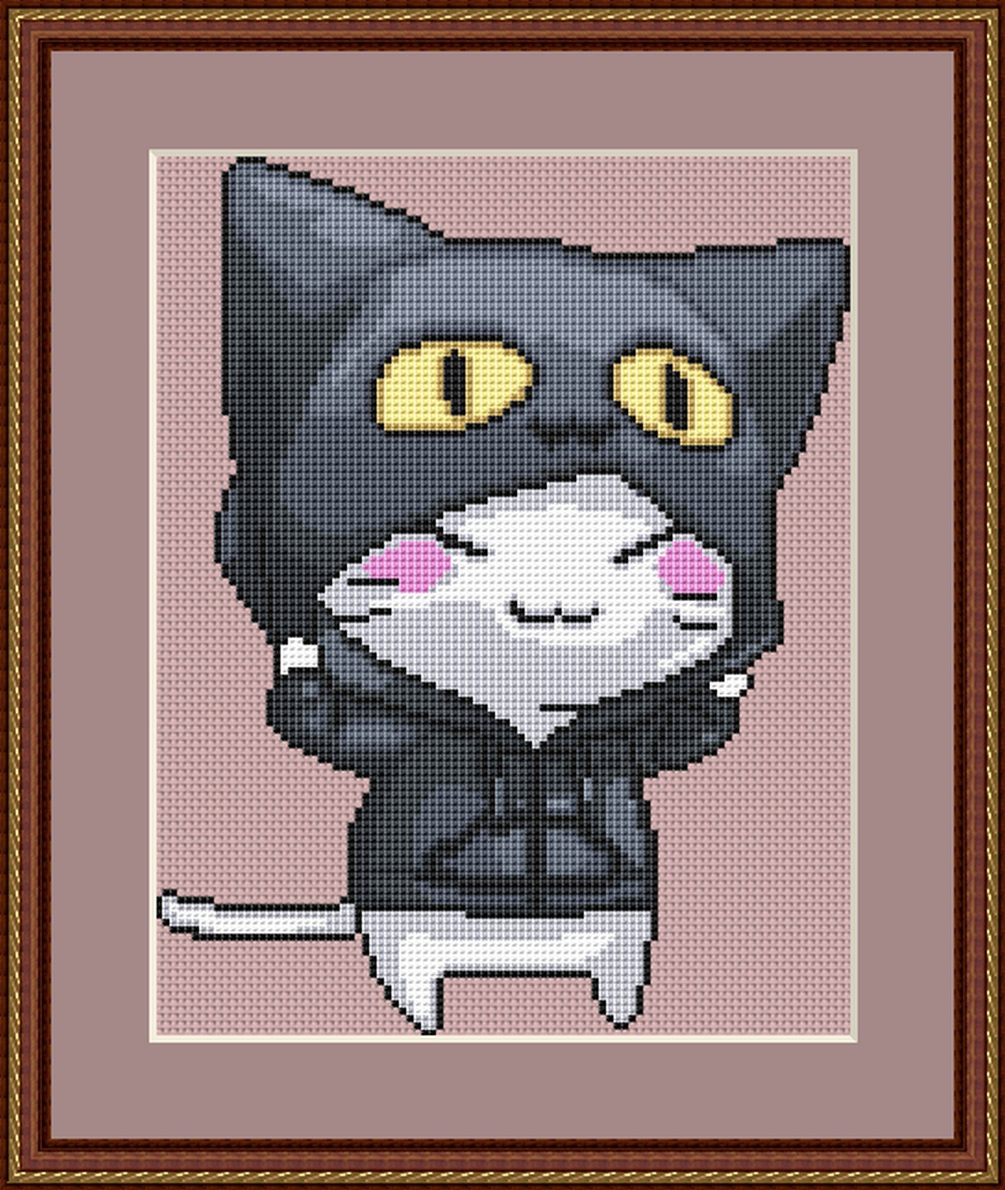 japanese anime embroidery designs
