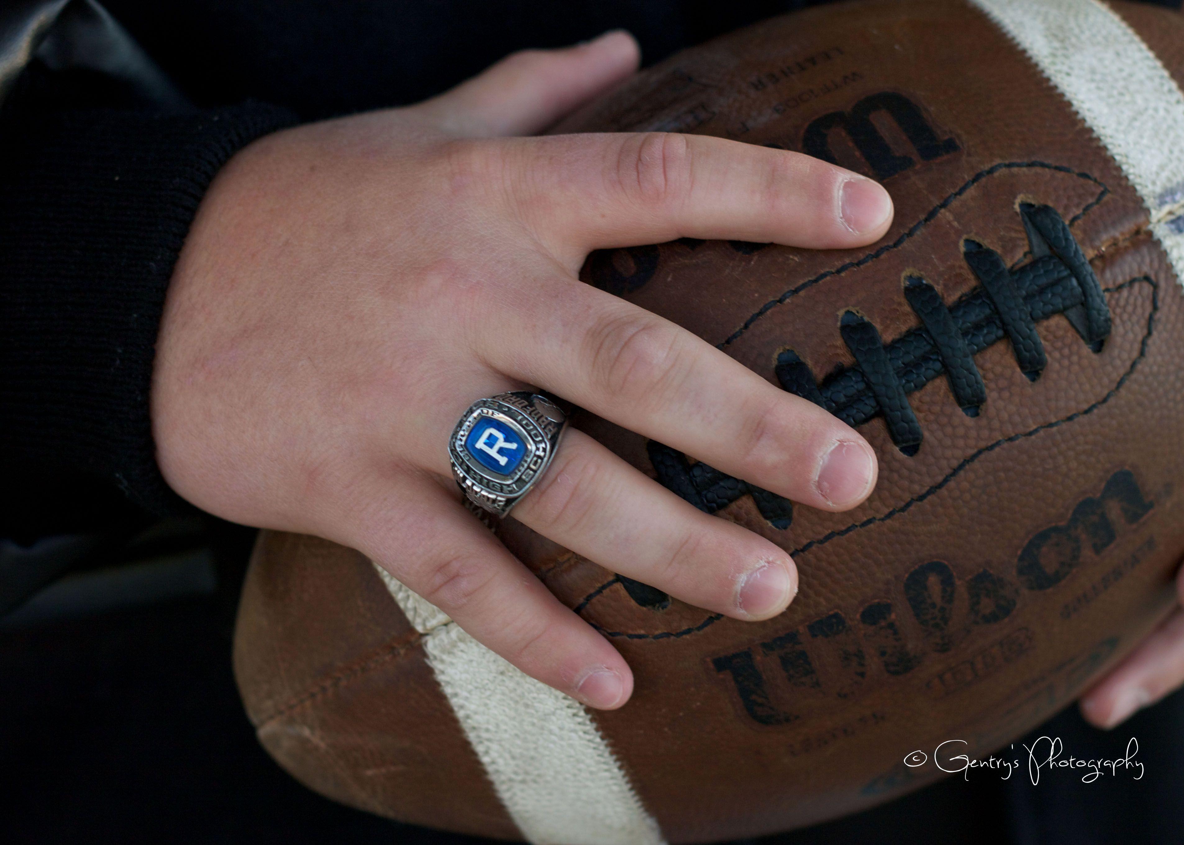 Kolby, Senior 2015, boy, guy, football, class ring, railroad ...