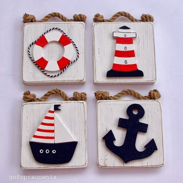 Piezas nautica pinterest cuadro cuadros infantiles for Decoracion habitacion bebe marinero
