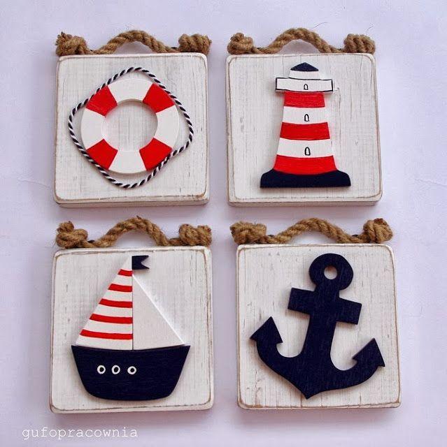 Piezas nautica pinterest cuadro cuadros infantiles for Decoracion nautica infantil