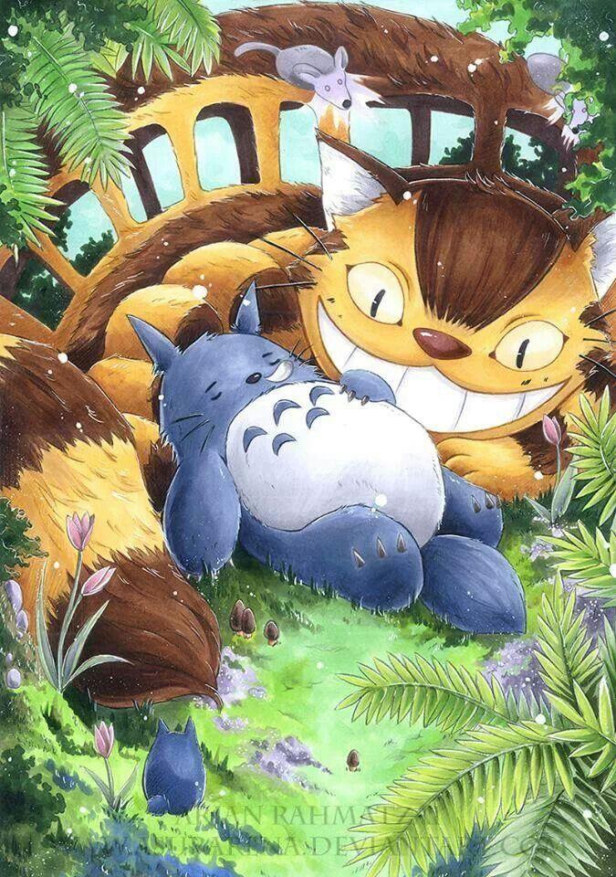 Pin by July Ramirez on Manga and anime ) Totoro, Anime