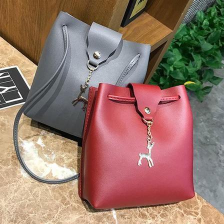Womens New Shoulder Messenger Satchel Evening Leather Cross Body Handbag Bag