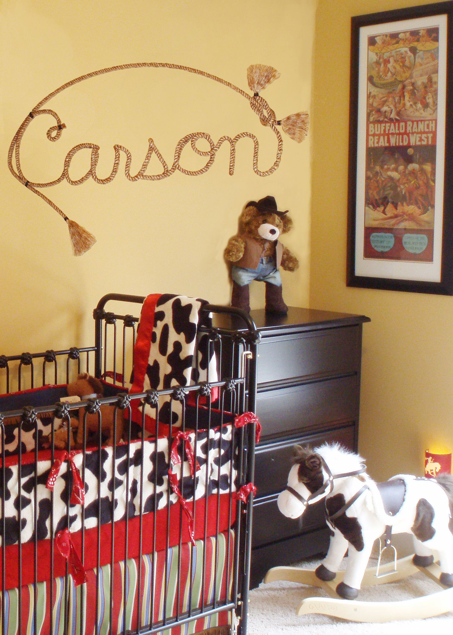Nursery Ideas For Boys Pony Horse