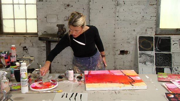 Online kunstschule f r abstrakte malerei malen lernen geistreich - Menschen malen lernen kindergarten ...