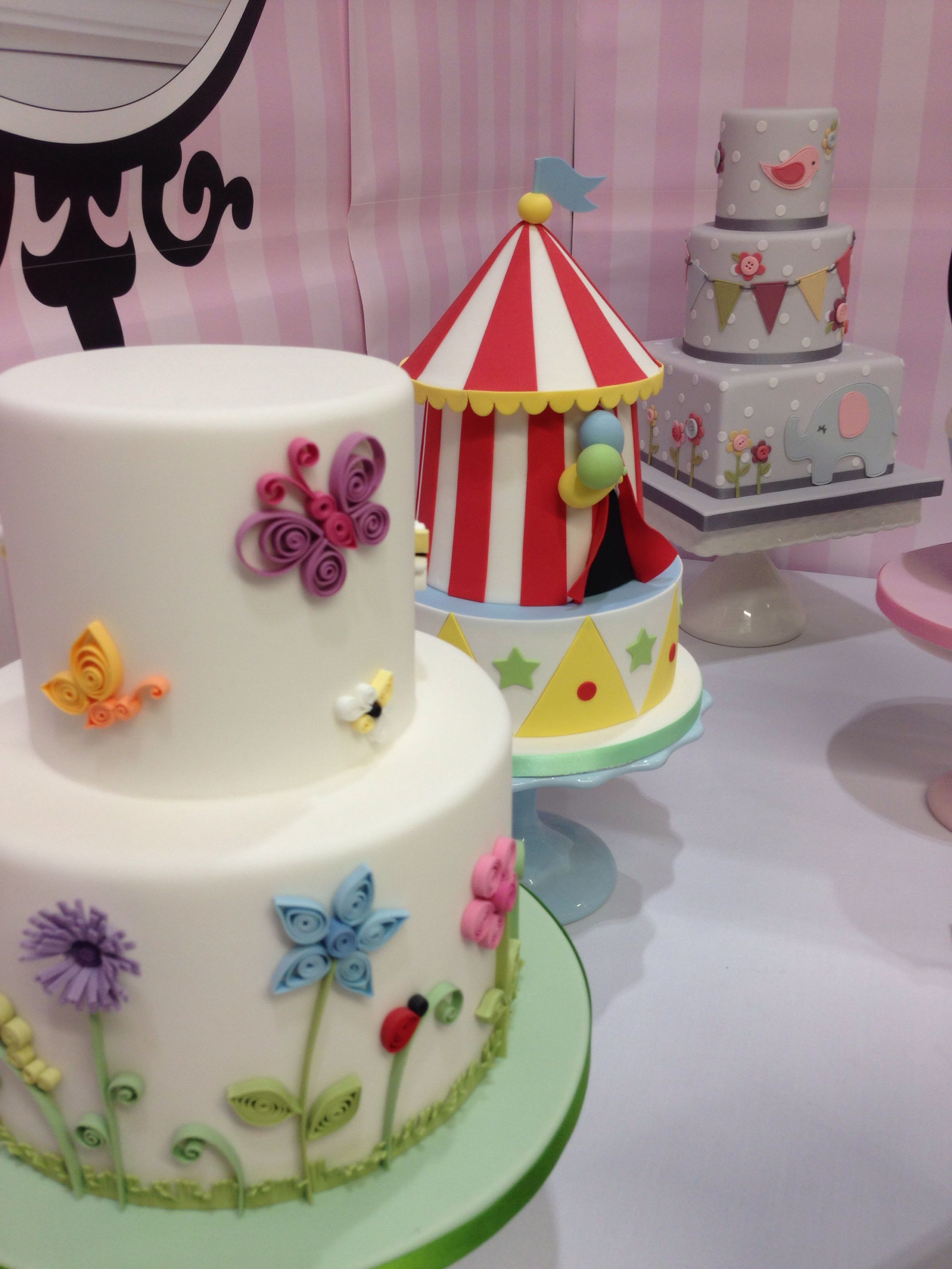 Cake ideas very cute cakes birthday vintage simple for Cute simple cakes