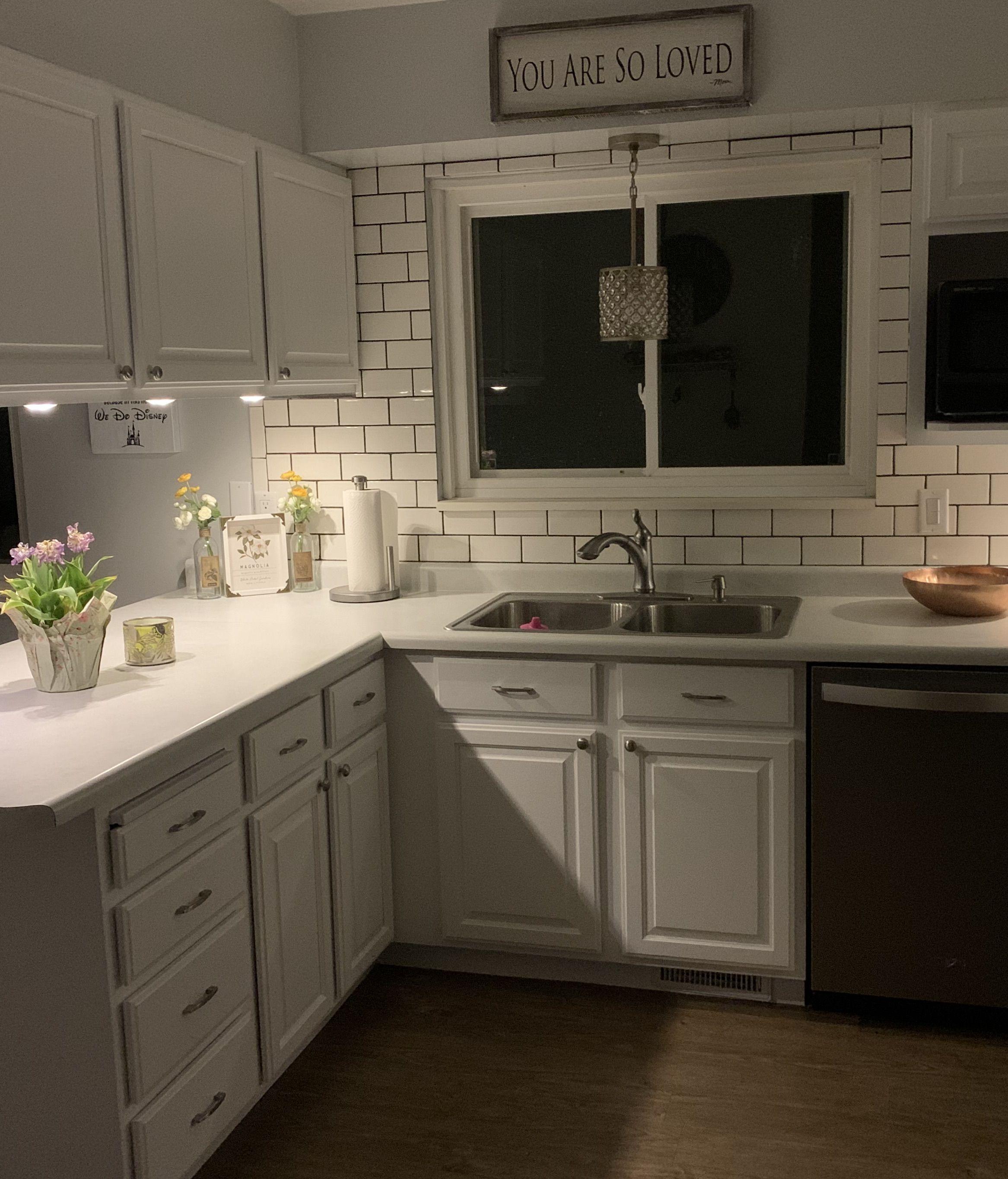 Upgrading Your Kitchen For Under 1000 In 2020 Kitchen Design Kitchen Home