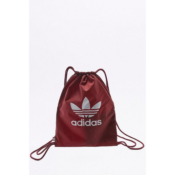 5164659c3e adidas Originals Trefoil Gym Sack ( 18) ❤ liked on Polyvore featuring bags