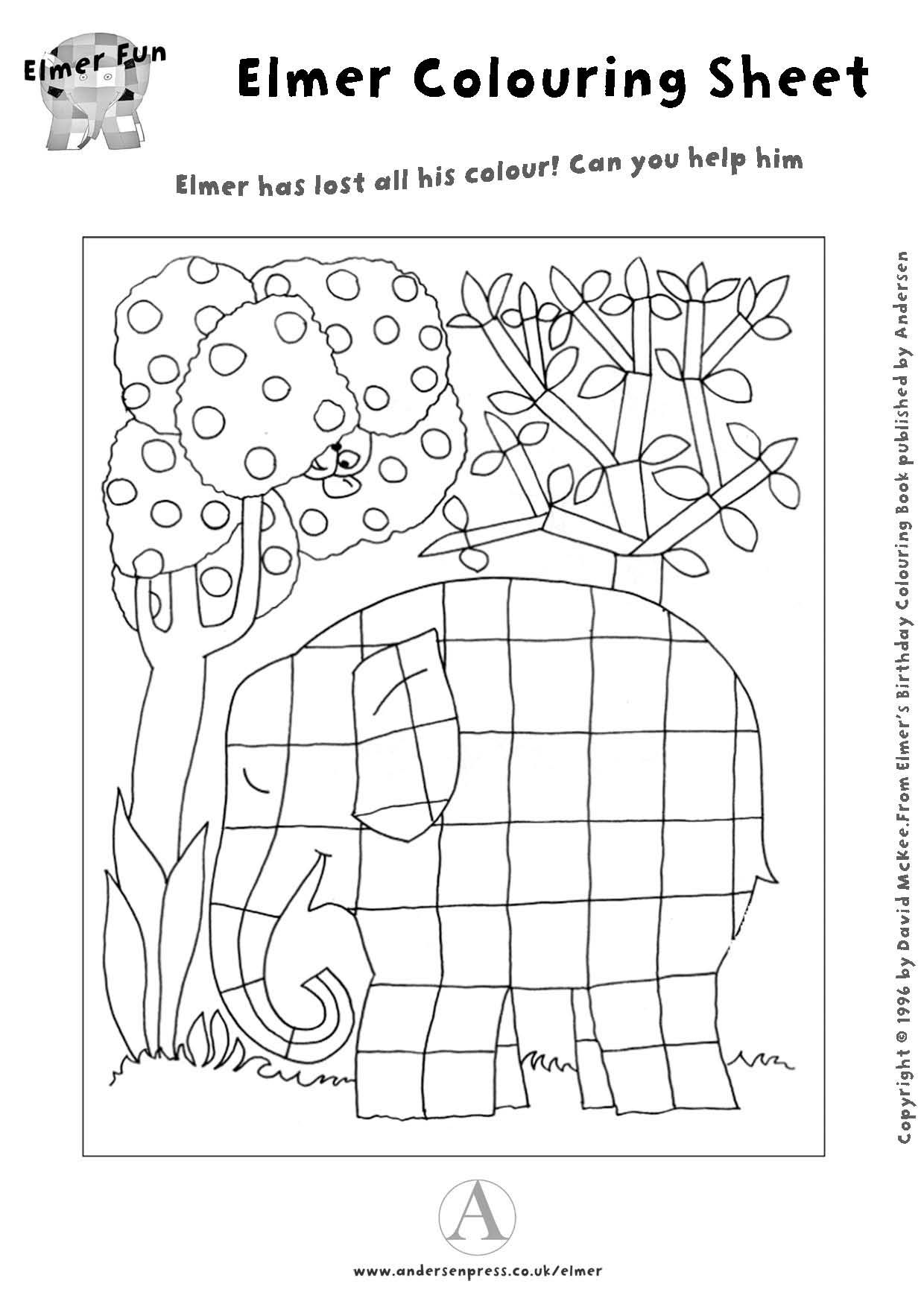 elmar elefant kunststunden kunst grundschule