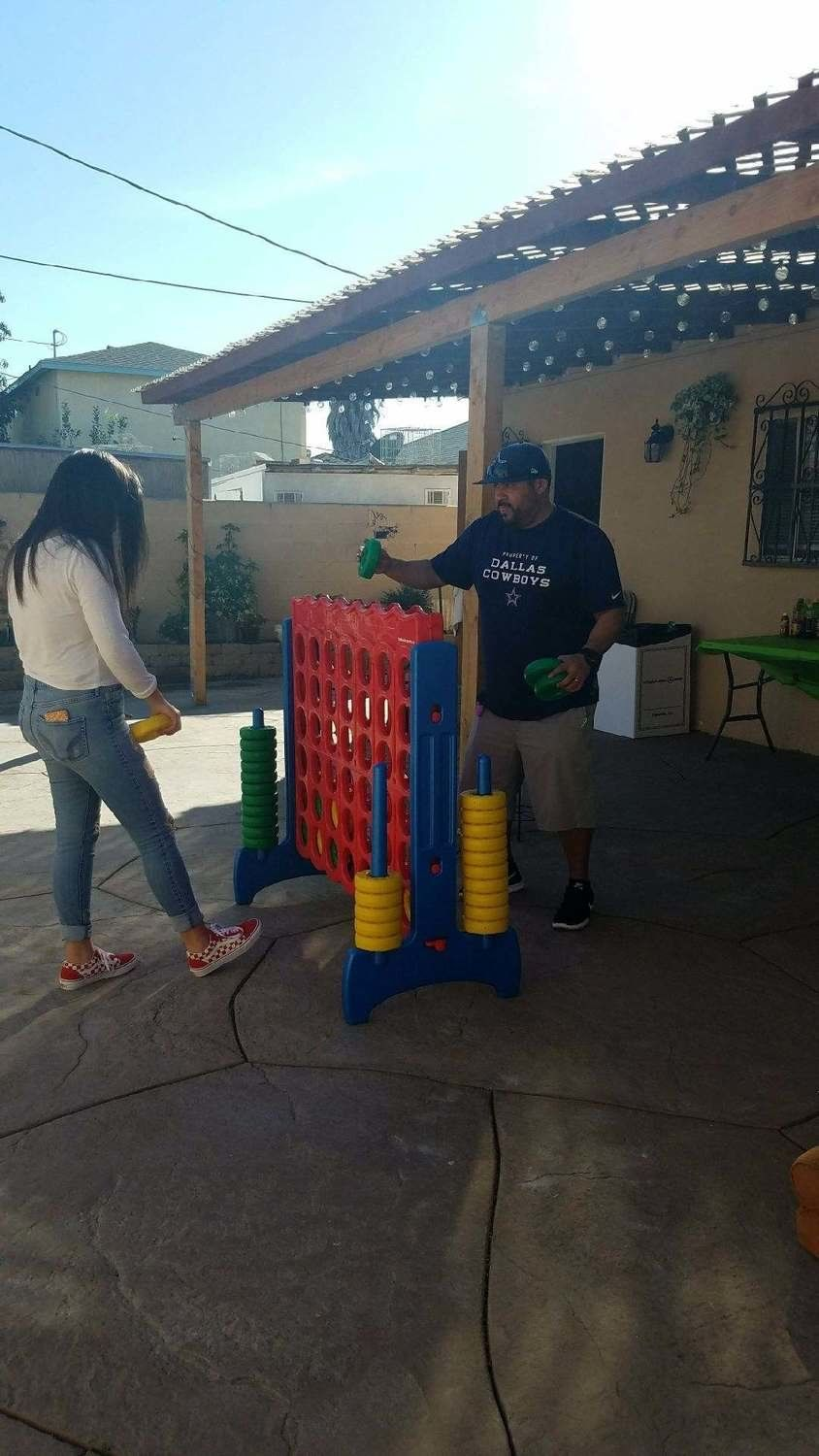 Giant Red Connect 4 Game Rental Party Game Rentals